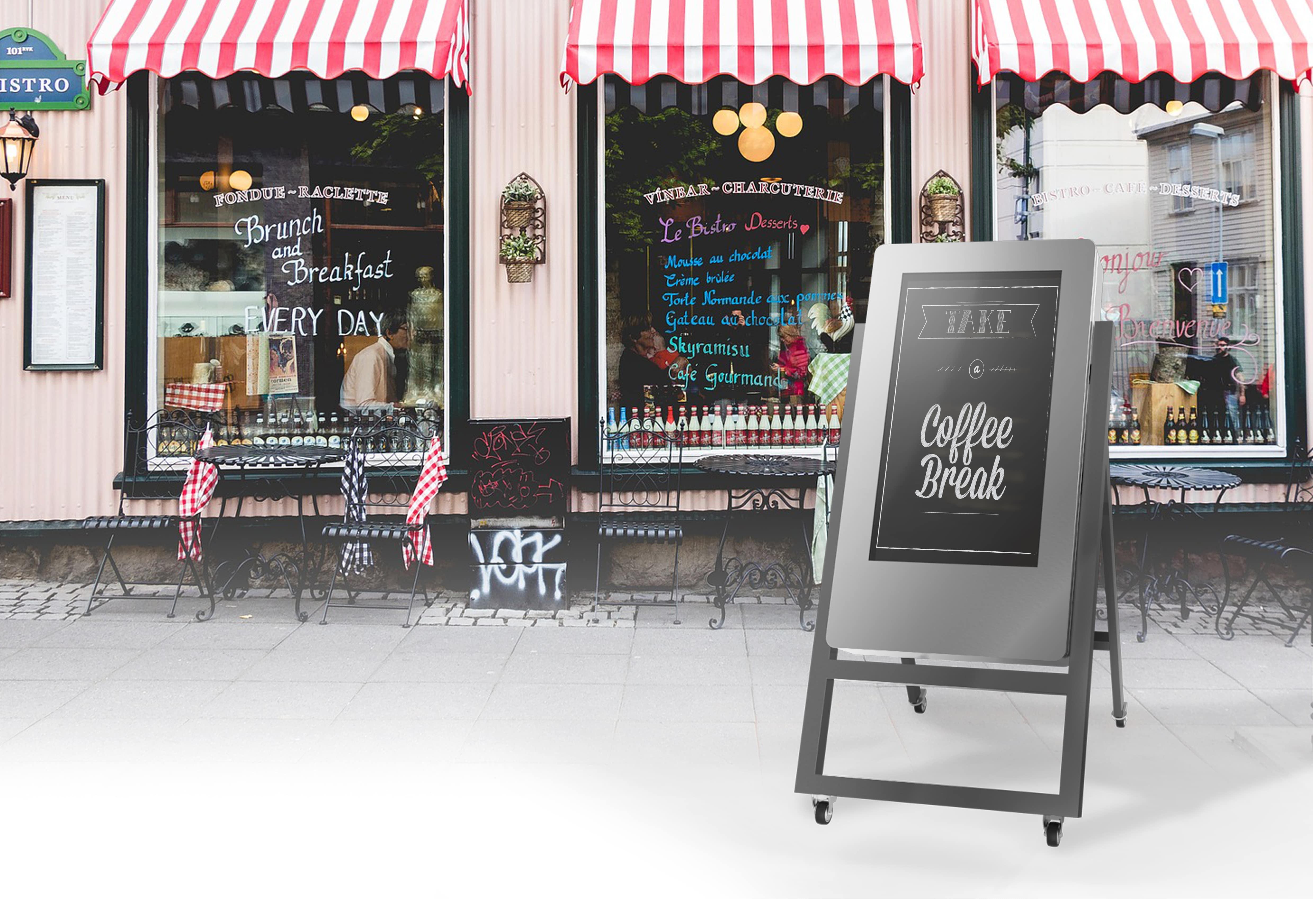 TRESTLE kiosk by PARTTEAM & OEMKIOSKS