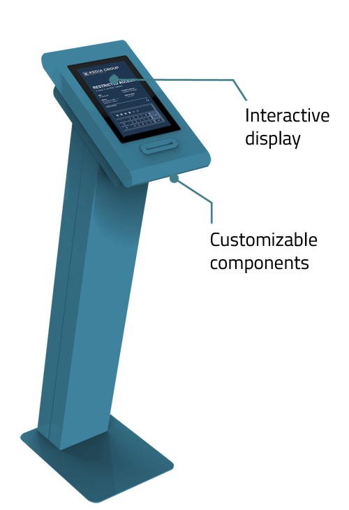 Visitor Management   Virtual Security by PARTTEAM & OEMKIOSKS