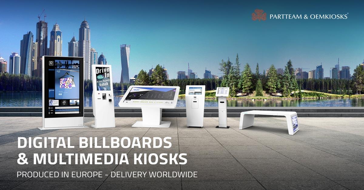 PARTTEAM & OEMKIOSKS | Digital Kiosks For The World