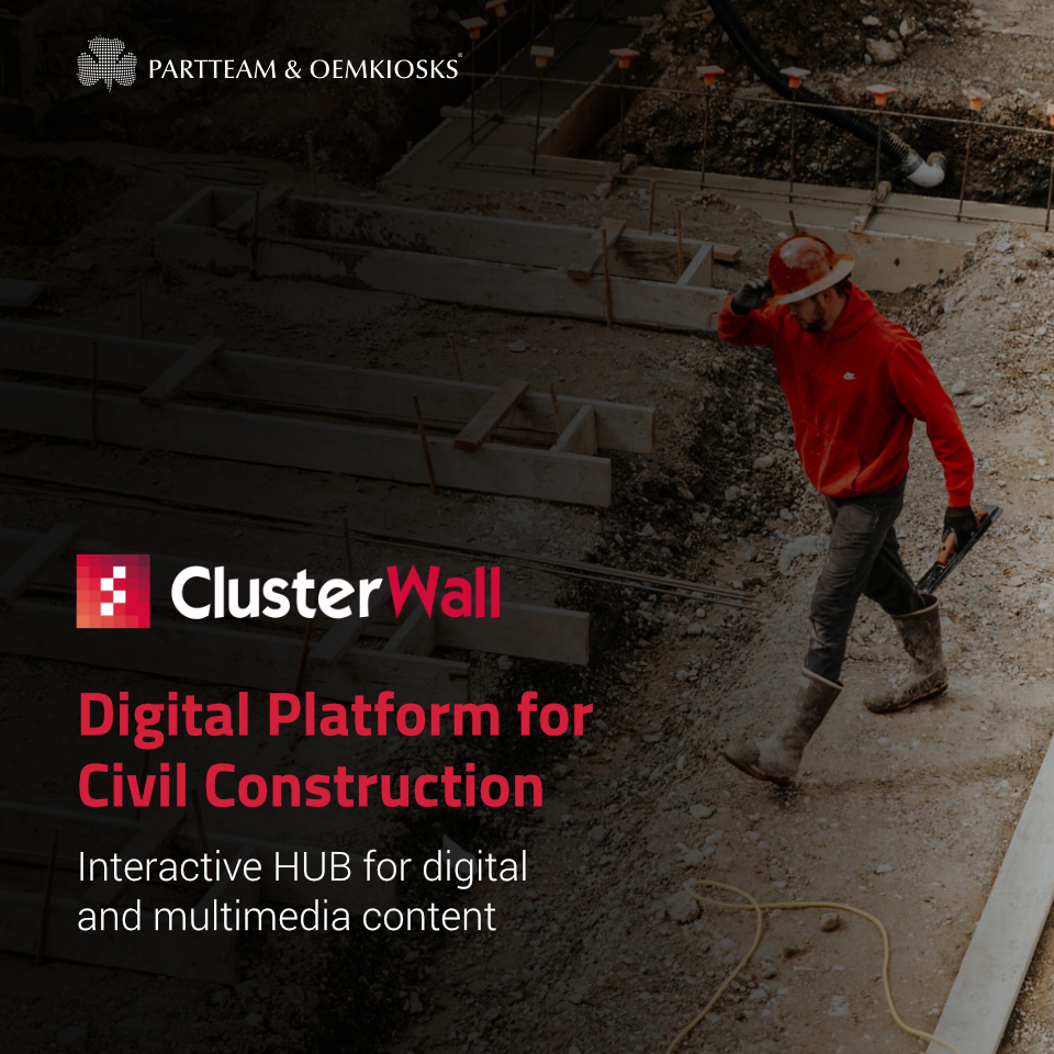 ClusterWall the Digital Plataform that is an Asset for Civil Construction