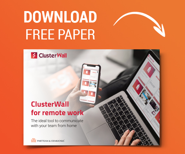 ClusterWall for Remote Work - Paper
