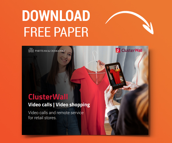ClusterWall Videocall for Retail - PARTTEAM & OEMKIOSKS