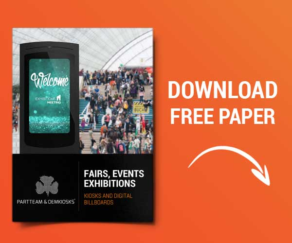 Paper About Fairs, Events, Exhibitions by PARTTEAM & OEMKIOSKS