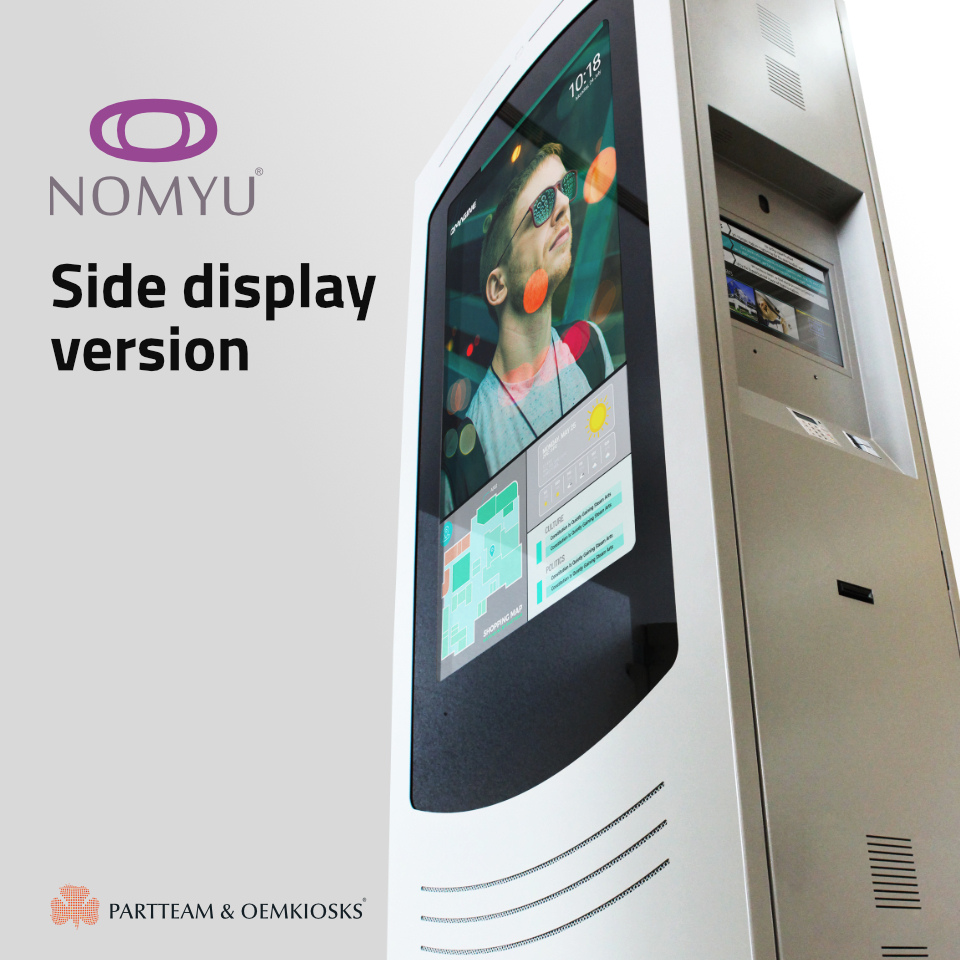 Nomyu Side Display an Asset for Smartcities