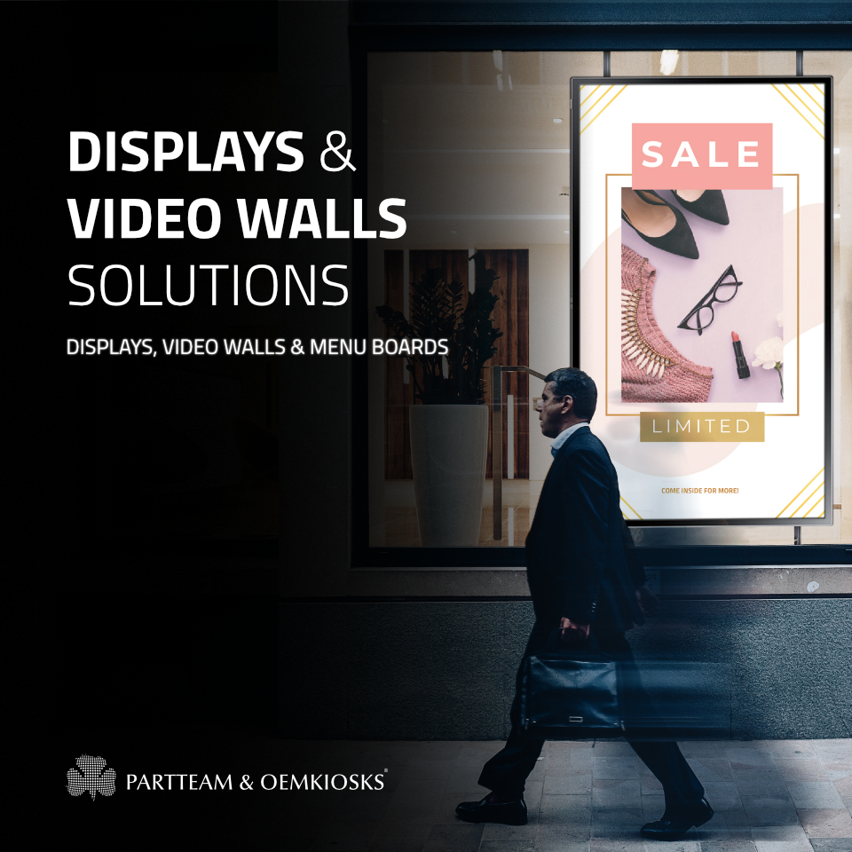 Displays and Video Walls Datasheet
