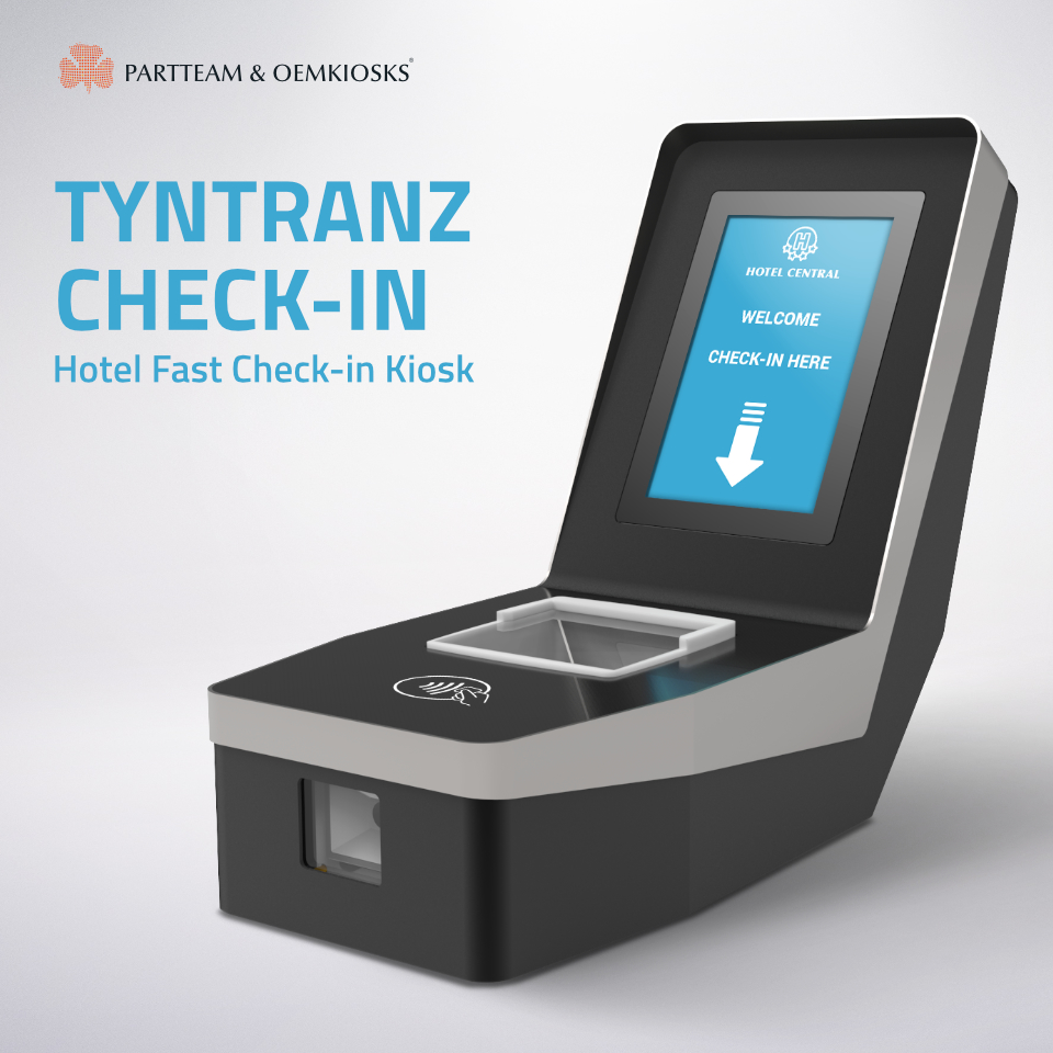 Hotel Fast Check-in Kiosk by PARTTEAM & OEMKIOSKS